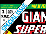 Giant-Size Super-Heroes Vol 1 1