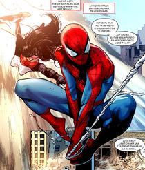 Peter y Silk patrullando