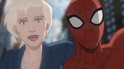 Spider-Man and May