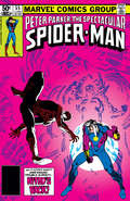 Peter Parker, The Spectacular Spider-Man Vol 1 55