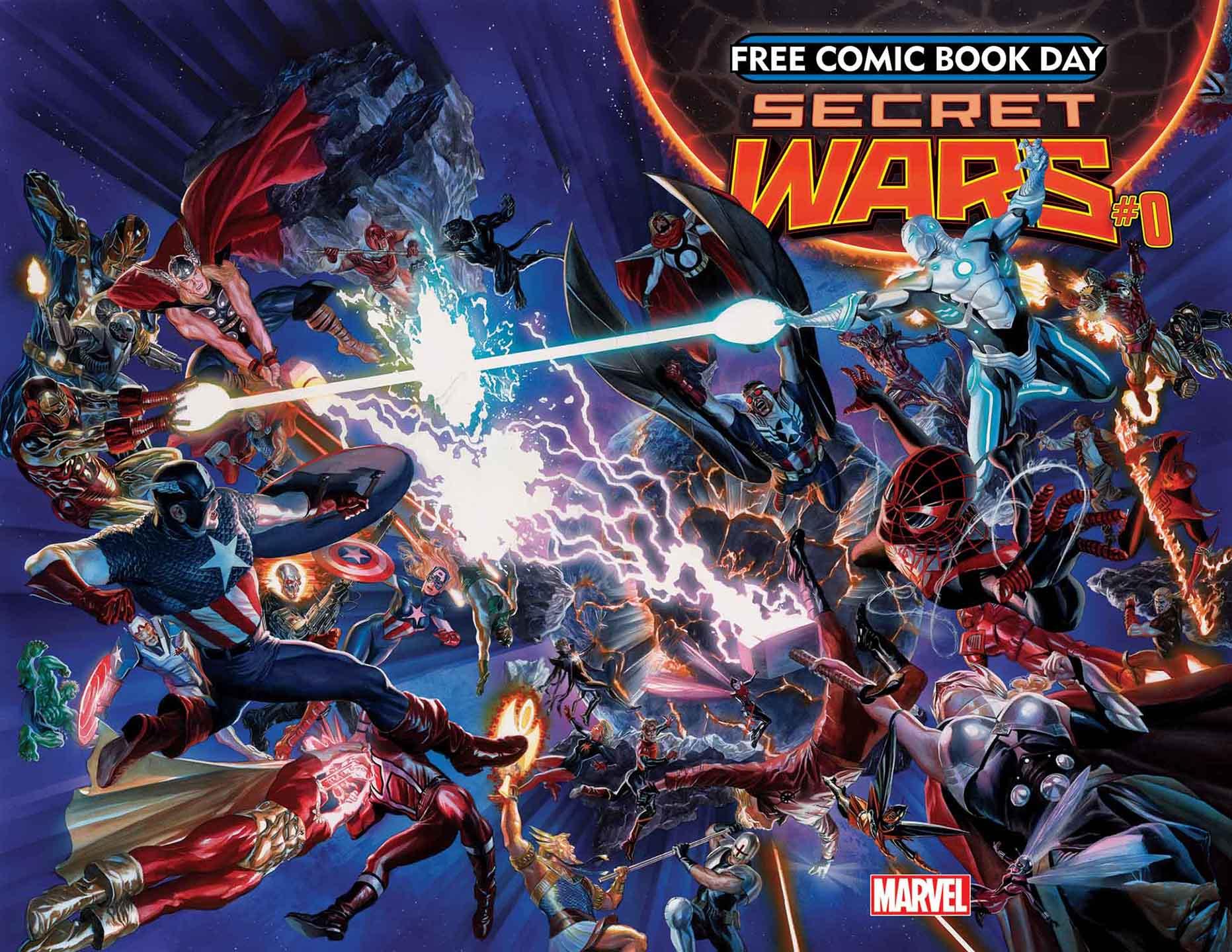 free comic book day volume 2015 secret wars spider man wiki