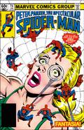 Peter Parker, The Spectacular Spider-Man Vol 1 74