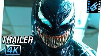 VENOM Trailer 3 (2018) 4K Ultra HD Tom Hardy, Riz Ahmed, Michelle Williams