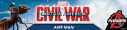 Ant-Man Civil War Promocional