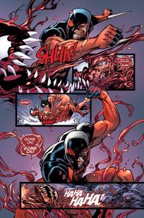 Kaine vs carnage