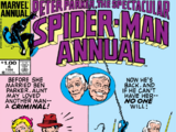 Peter Parker, The Spectacular Spider-Man Annual Vol 1 4