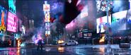 Electro VS Spider-Man combate