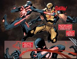 Kaine vs Logan