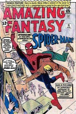 Amazing Fantasy Vol 1 15 Variant Original Ditko Cover