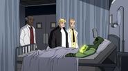 Maxwell Dillon es visitado en el hospital por Connors y Brock - Interactions