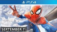 NEW Spider-Man PS4 RELEASE DATE! More Gameplay! (Pre-Order Trailer)