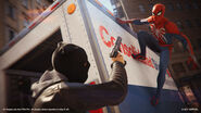 Spider-Man PS4 PGW Truck Gameplay