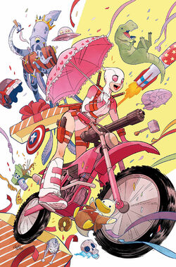 Unbelievable Gwenpool Vol. 1 -1 Textless