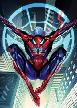 Amazing Spider-Man Vol. 4 -1 Campbell Variant textless