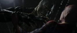 Lagarto vs Spider-Man en las alcantarillas