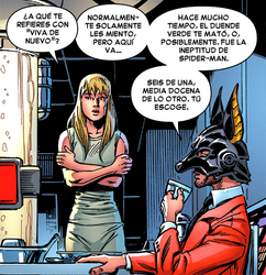 Gwen Stacy revivida por el Jackal