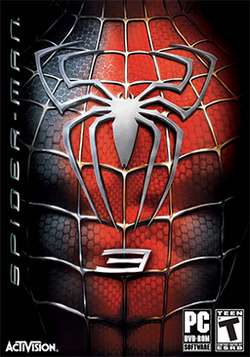Spider-Man 3 Coverart