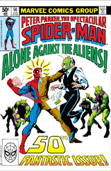 Peter Parker, The Spectacular Spider-Man Vol 1 50