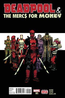 Deadpool & the Mercs for Money Vol. 1 -5