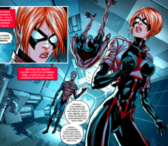 Black Widow y Scarlet Spiders