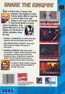 TASM vs. TK (Sega CD American Cover Back)