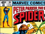 Peter Parker, The Spectacular Spider-Man Vol 1 39