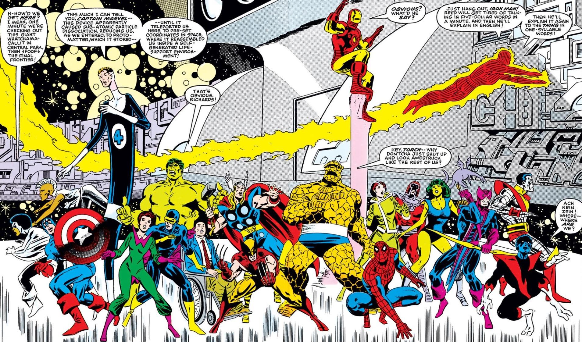 Image result for Secret Wars 1984 heroes