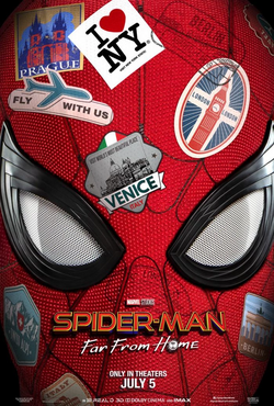Spider-Man Far From Home - Teaser Poster