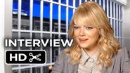 The Amazing Spider-Man 2 Interview - Emma Stone (2014)