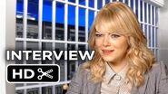 The Amazing Spider-Man 2 Interview - Emma Stone (2014)