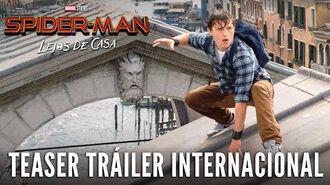 SPIDER-MAN LEJOS DE CASA. Teaser Tráiler Internacional HD en español. En cines 5 de julio.