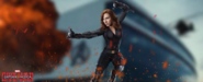 Civil War Black Widow banner