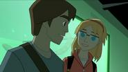 Gwen y Peter en el laboratorio - Interactions