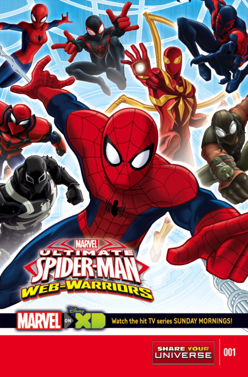 Image - Marvel Universe Ultimate Spider-Man Web Warriors Vol. 1 -1 ...