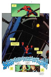 Spiderman fuerza aracnida