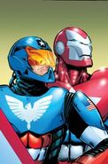 American Son with Iron Patriot