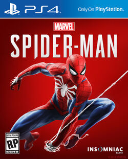 Marvel's Spider-Man PS4 box art
