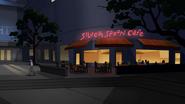 Las afueras de la Cafeteria el Cucharon Plateado - Interactions