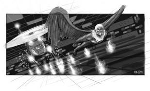 SM4 Arte conceptual del Buitre