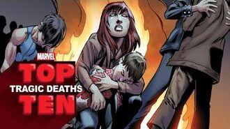 Marvel Top 10 Tragic Deaths