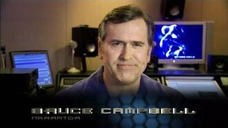 Spider-Man 3 The Video Game - Behind the Scenes with Bruce Campbell (HD)