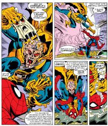 Demogoblin vs Spider-Man
