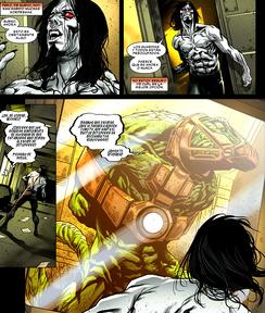 Morbius escapa