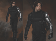 Captain America Civil War - Concept Art - Winter Soldier