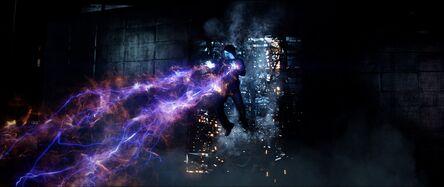 Electro lanzando rayos