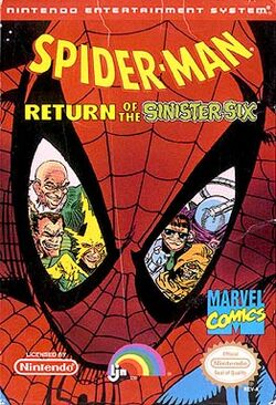 Spiderman return of the sinister six NES