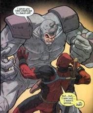 Rhino vs Deadpool