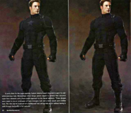 Captain America Black Suit Concept