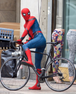Spider-Man HC BTS 3