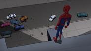 Spider Man se da cuenta que Electro se fue - Interactions